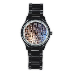 Wallpaper Steel Industry Stainless Steel Round Watch