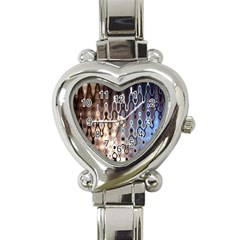 Wallpaper Steel Industry Heart Italian Charm Watch by Nexatart