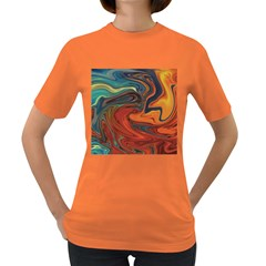 Creativity Abstract Art Women s Dark T Shirt