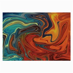 Creativity Abstract Art Large Glasses Cloth