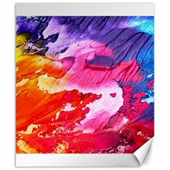 Abstract Art Background Paint Canvas 20  X 24