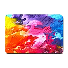 Abstract Art Background Paint Small Doormat