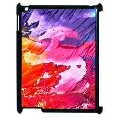 Abstract Art Background Paint Apple Ipad 2 Case (black) by Nexatart