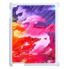 Abstract Art Background Paint Apple Ipad 2 Case (white)