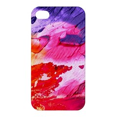 Abstract Art Background Paint Apple Iphone 4/4s Premium Hardshell Case