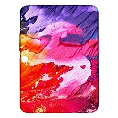 Abstract Art Background Paint Samsung Galaxy Tab 3 (10 1 ) P5200 Hardshell Case
