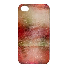 Background Art Abstract Watercolor Apple Iphone 4/4s Premium Hardshell Case