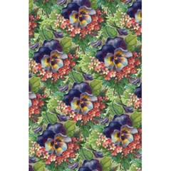 Background Square Flower Vintage 5 5  X 8 5  Notebooks by Nexatart