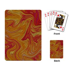 Texture Pattern Abstract Art Playing Card