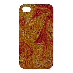 Texture Pattern Abstract Art Apple Iphone 4/4s Premium Hardshell Case