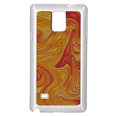 Texture Pattern Abstract Art Samsung Galaxy Note 4 Case (white) by Nexatart