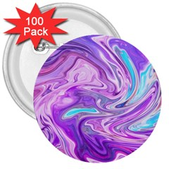 Abstract Art Texture Form Pattern 3  Buttons (100 Pack)  by Nexatart