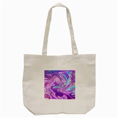 Abstract Art Texture Form Pattern Tote Bag (cream)