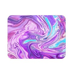 Abstract Art Texture Form Pattern Double Sided Flano Blanket (mini)