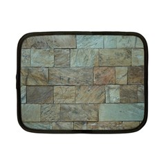 Wall Stone Granite Brick Solid Netbook Case (small)