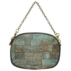 Wall Stone Granite Brick Solid Chain Purses (two Sides)