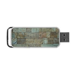 Wall Stone Granite Brick Solid Portable Usb Flash (one Side)