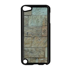 Wall Stone Granite Brick Solid Apple Ipod Touch 5 Case (black) by Nexatart