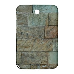 Wall Stone Granite Brick Solid Samsung Galaxy Note 8 0 N5100 Hardshell Case  by Nexatart