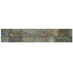 Wall Stone Granite Brick Solid Large Flano Scarf  by Nexatart