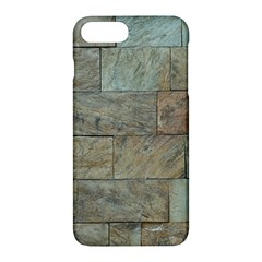 Wall Stone Granite Brick Solid Apple Iphone 7 Plus Hardshell Case by Nexatart