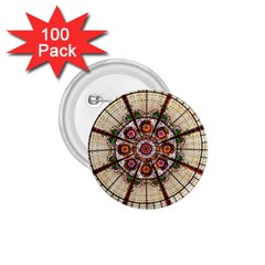 Pattern Round Abstract Geometric 1 75  Buttons (100 Pack)