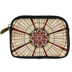 Pattern Round Abstract Geometric Digital Camera Cases by Nexatart