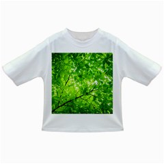 Green Wood The Leaves Twig Leaf Texture Infant/toddler T Shirts