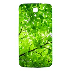 Green Wood The Leaves Twig Leaf Texture Samsung Galaxy Mega I9200 Hardshell Back Case
