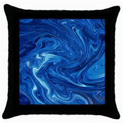 Abstract Pattern Texture Art Throw Pillow Case (black) by Nexatart