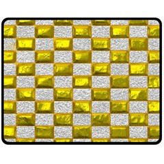 Pattern Desktop Square Wallpaper Fleece Blanket (medium)  by Nexatart