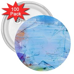 Background Art Abstract Watercolor 3  Buttons (100 Pack)  by Nexatart