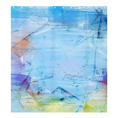 Background Art Abstract Watercolor Shower Curtain 66  X 72  (large)