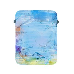 Background Art Abstract Watercolor Apple Ipad 2/3/4 Protective Soft Cases by Nexatart