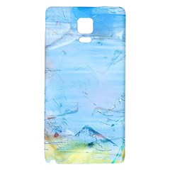 Background Art Abstract Watercolor Galaxy Note 4 Back Case