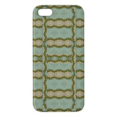 Celtic Wood Knots In Decorative Gold Iphone 5s/ Se Premium Hardshell Case by pepitasart