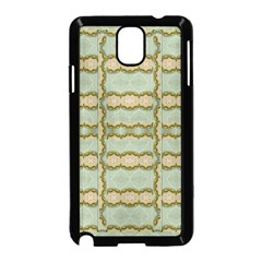 Celtic Wood Knots In Decorative Gold Samsung Galaxy Note 3 Neo Hardshell Case (black) by pepitasart