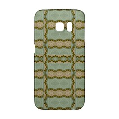 Celtic Wood Knots In Decorative Gold Galaxy S6 Edge by pepitasart