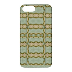Celtic Wood Knots In Decorative Gold Apple Iphone 7 Plus Hardshell Case by pepitasart