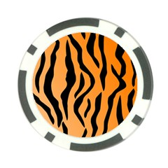Tiger Fur 2424 100p Poker Chip Card Guard (10 Pack) by SimplyColor