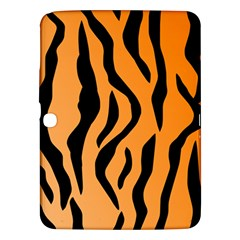 Tiger Fur 2424 100p Samsung Galaxy Tab 3 (10 1 ) P5200 Hardshell Case  by SimplyColor