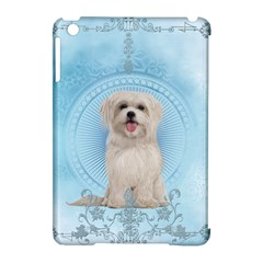 Cute Little Havanese Puppy Apple Ipad Mini Hardshell Case (compatible With Smart Cover) by FantasyWorld7