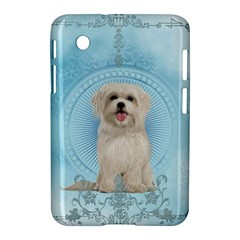 Cute Little Havanese Puppy Samsung Galaxy Tab 2 (7 ) P3100 Hardshell Case  by FantasyWorld7