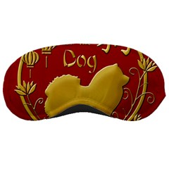 Year Of The Dog   Chinese New Year Sleeping Masks by Valentinaart