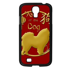 Year Of The Dog   Chinese New Year Samsung Galaxy S4 I9500/ I9505 Case (black) by Valentinaart