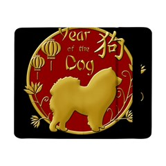 Year Of The Dog   Chinese New Year Samsung Galaxy Tab Pro 8 4  Flip Case by Valentinaart