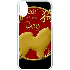 Year Of The Dog   Chinese New Year Apple Iphone X Seamless Case (white) by Valentinaart