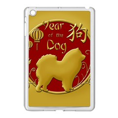 Year Of The Dog   Chinese New Year Apple Ipad Mini Case (white) by Valentinaart