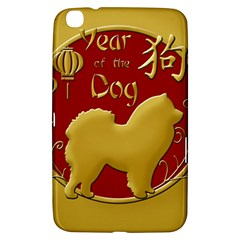 Year Of The Dog   Chinese New Year Samsung Galaxy Tab 3 (8 ) T3100 Hardshell Case