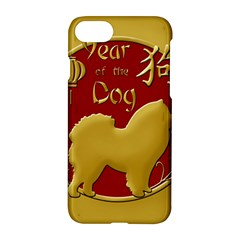 Year Of The Dog   Chinese New Year Apple Iphone 7 Hardshell Case by Valentinaart